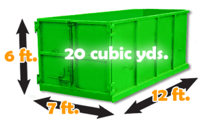 20 cubic yard dumpster for rent in burnaby. Great deals!