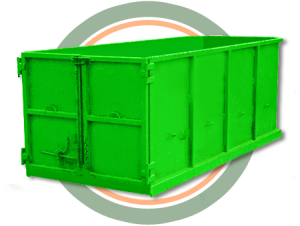 Rent a dumpster or bin to remove concrete, drywall, sod, soil, green waste, or construction materials,